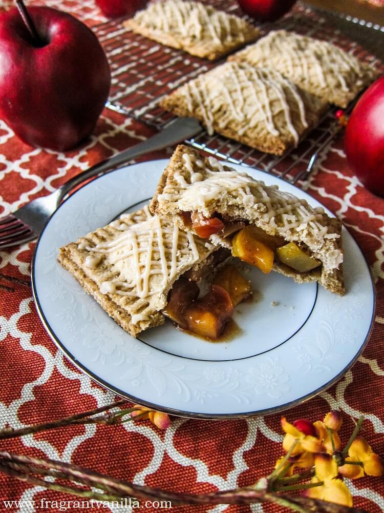 Vegan Maple Brandy Apple Hand Pies