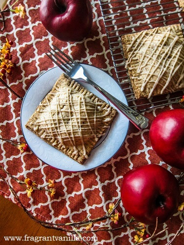 Vegan Maple Brandy Apple Hand Pies