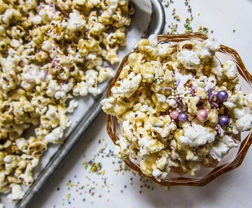 If You Love Vanilla Cake As Much I Do Give This A Try It Is Way Better Than The Gourmet Popcorn Can Buy At Store Vegan Birthday