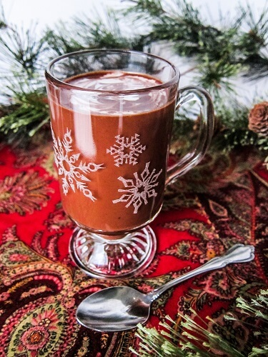 Peppermint CBD Hot Chocolate