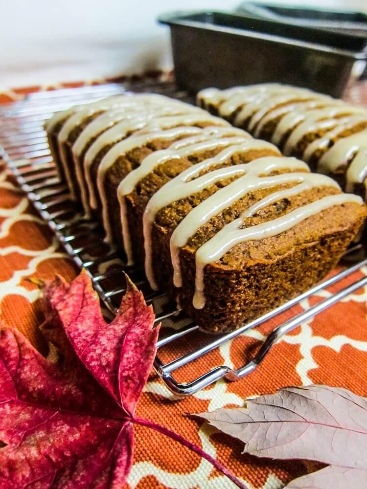 Vegan Maple Cinnamon Sweet Potato Bread