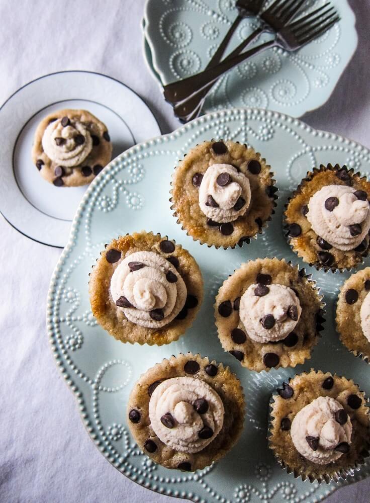 VeganBlack Bottom Cupcakes