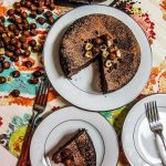 Vegan Hazelnut Flourless Chocolate Cake