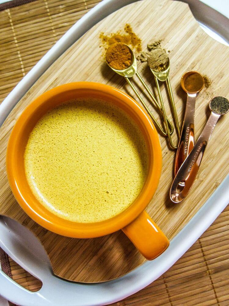 Golden Almond Turmeric Latte