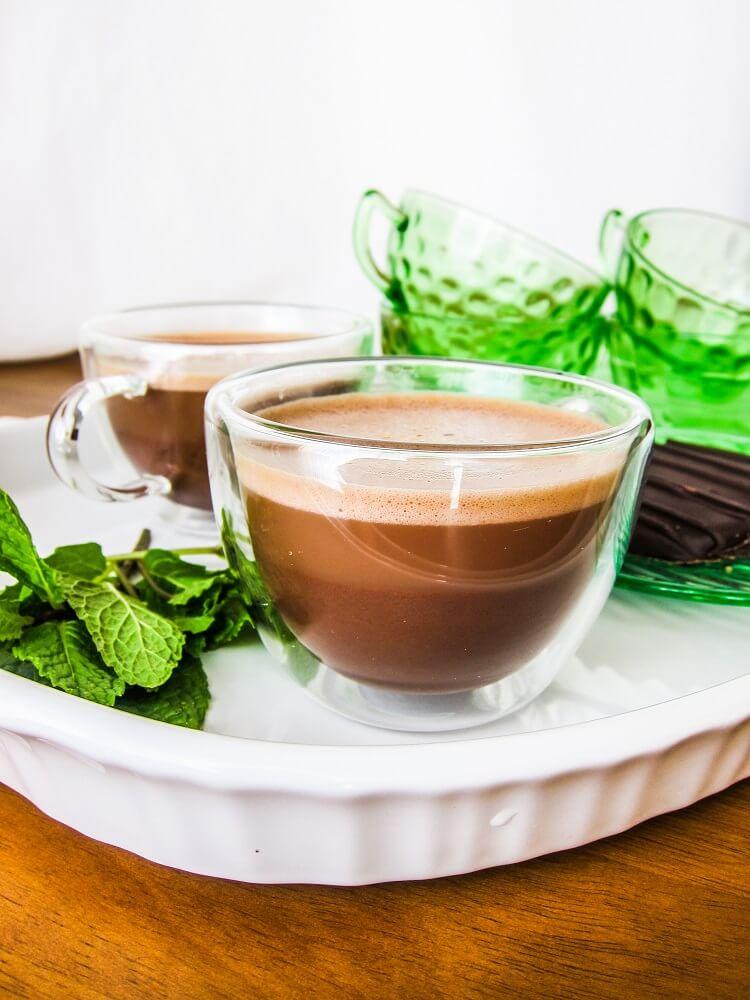 Vegan Thin Mint Latte