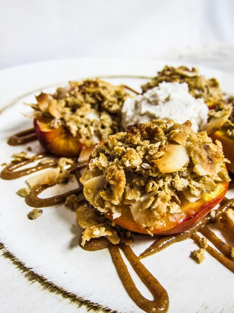 Stuffed Roasted Peaches