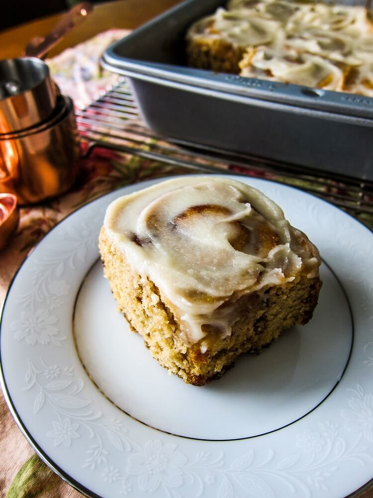 Vegan Maple Cinnamon Rolls