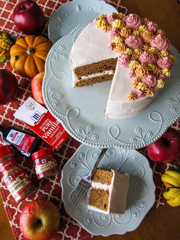 Vegan Sweet Potato Casserole and Vegan Sweet Potato Maple Cake with McCormick Spices!