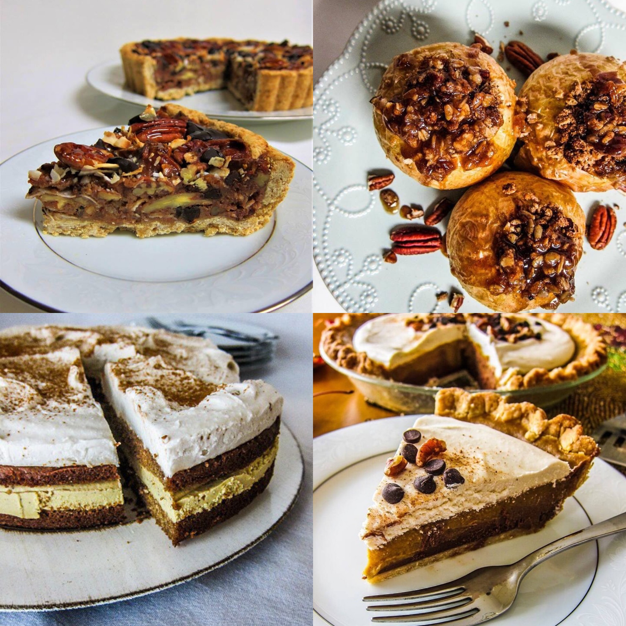 40+ Vegan Thanksgiving Dessert Recipes