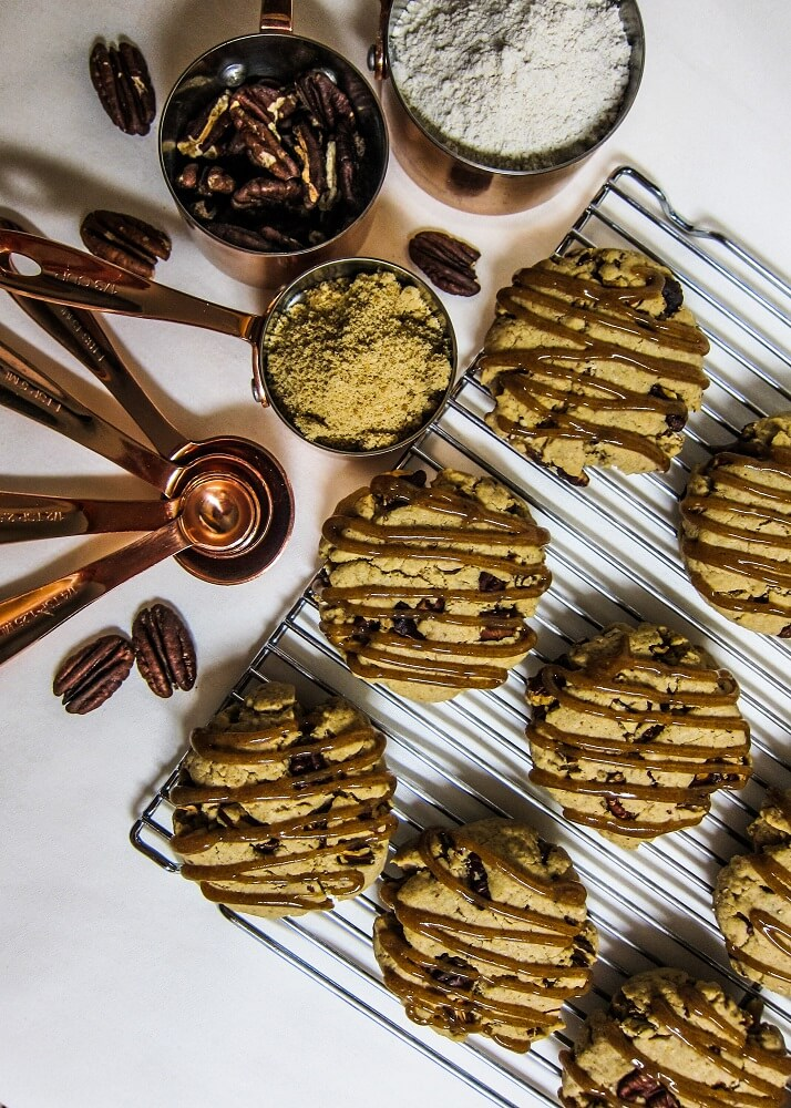 Vegan Maple Pecan Cookies