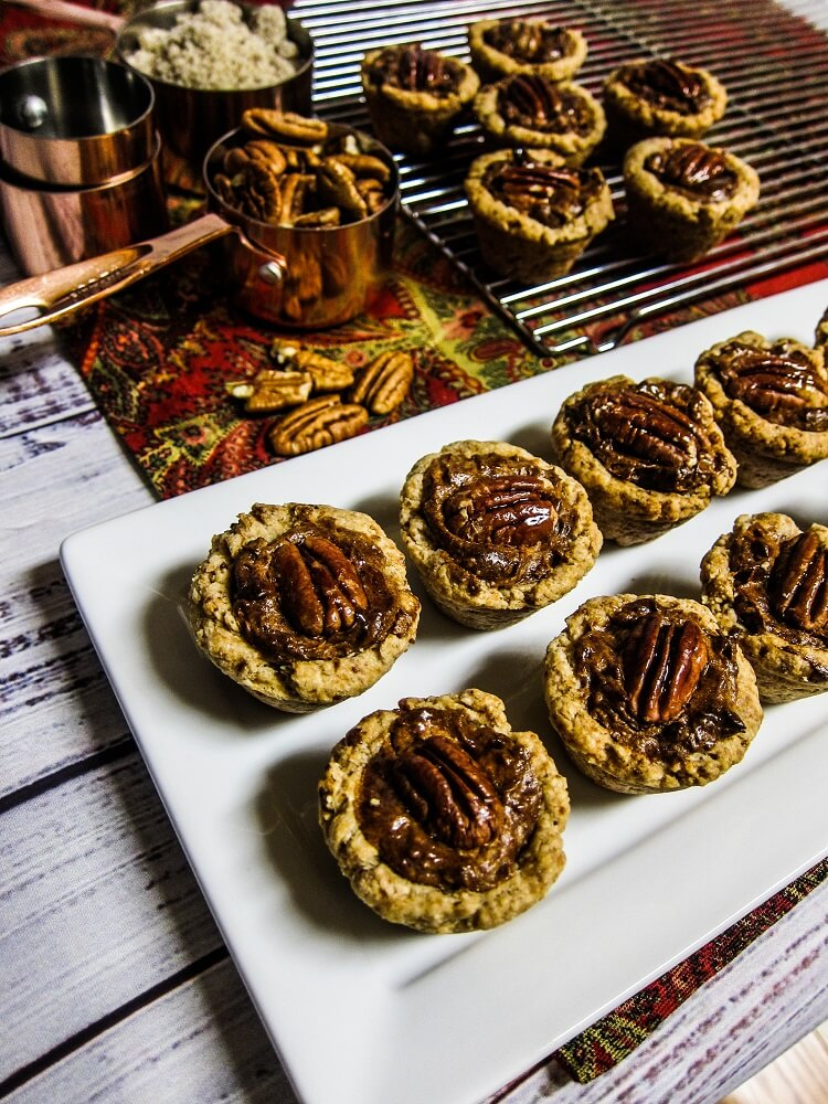 Vegan Pecan Tassies