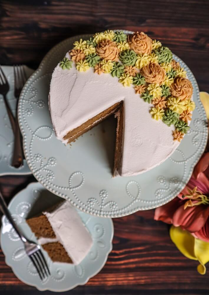 Classic Vegan Carrot Cake