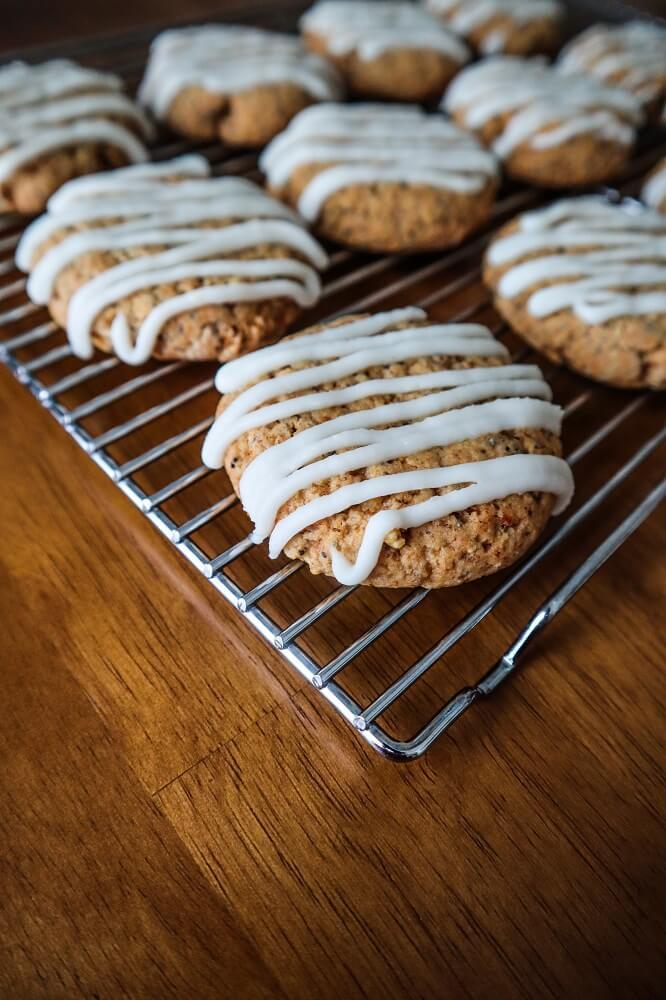 Vegan Lemon Poppy Seed Cookies