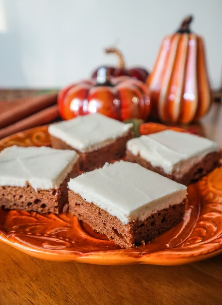 Vegan Pumpkin Bars