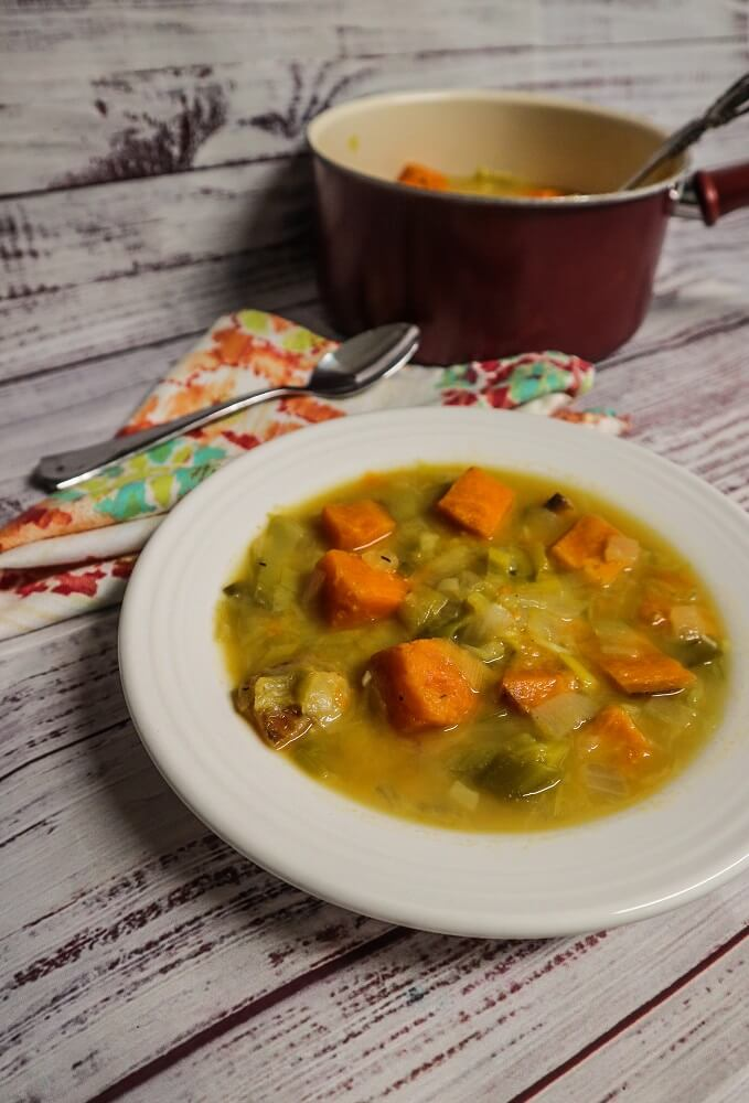 Sweet Potato Leek Soup